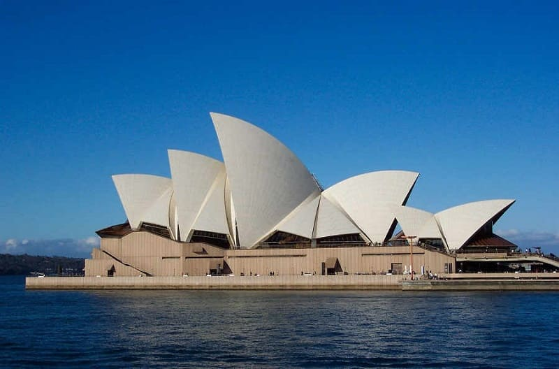 Sydney Harbour Opera House in Australia - freedom and liberty