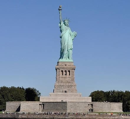 About us - liberty and freedom - the statue says it all