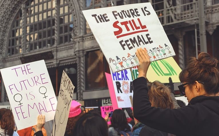 Stupid feminists on the march